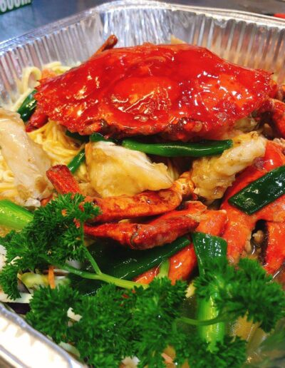 Sunnybank Plaza Mud Crab and Noodles