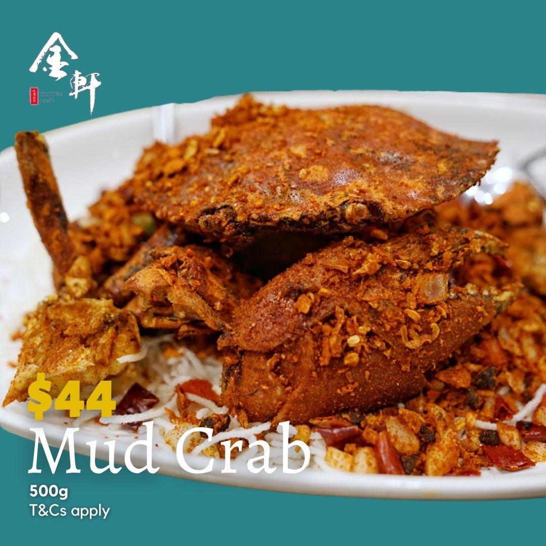 Golden Lane Mud Crab Dining Deals